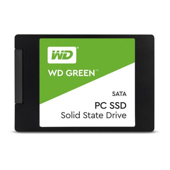 """SSD 480GB Western Digital WDS480G2G0A, SATA 6Gb/s, 2.5"""" (6.35cm), скорост на четене 545 MB/s, скорост на запис 465 MB/s image"""