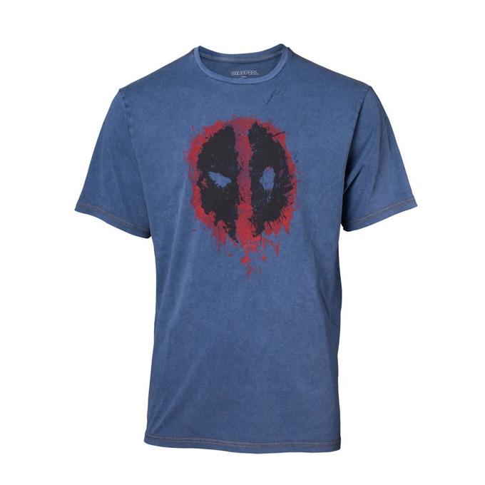 Тениска Bioworld Deadpool, размер L, синя image