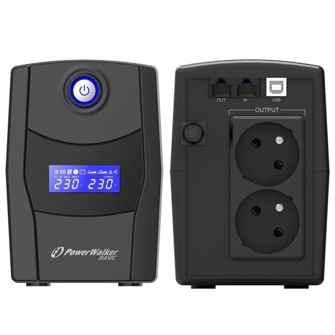 PowerWalker VI 600 STL 10121084
