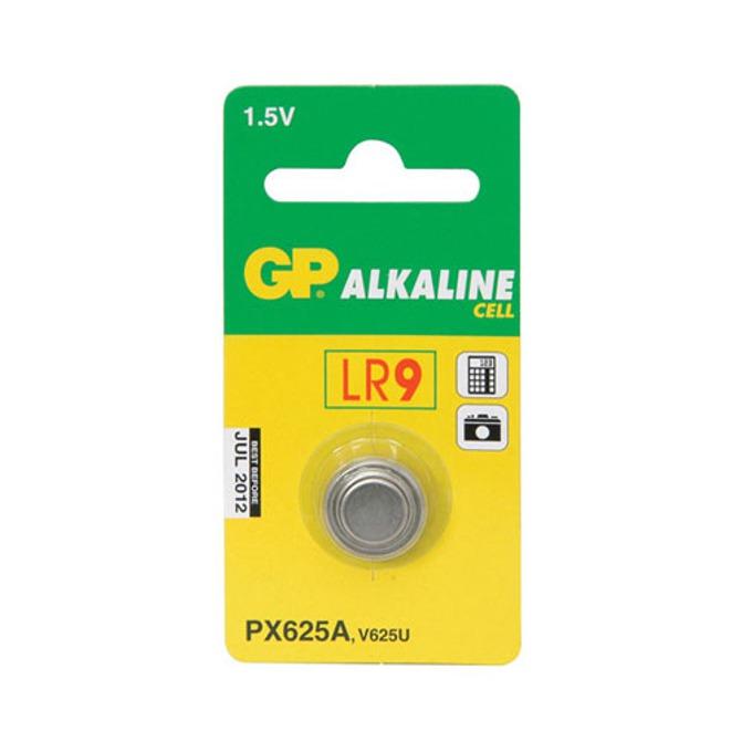 Батерия алкална GP LR9, 1.5V, 1 бр.  image