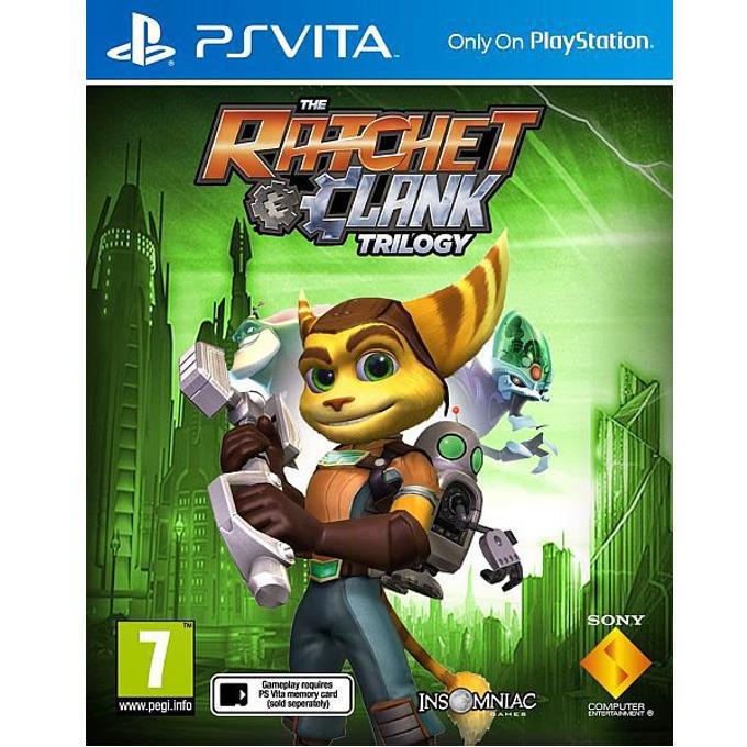 Игра за конзола The Ratchet and Clank Trilogy, за PSVITA image