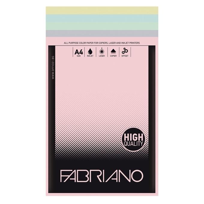 Fabriano A4, 160 g/m2, 5 цвята, 50 листа product