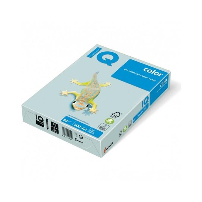 Хартия Mondi IQ Color BL29, A4, 80 g/m2, 500 листа, синя image