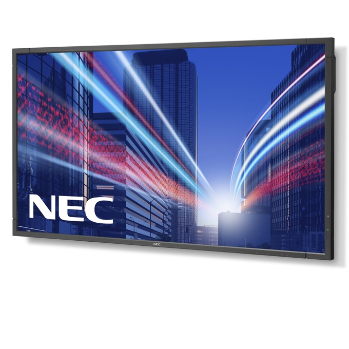 "Публичен дисплей NEC P801, 80""(203.2 cm), Full HD LED, VGA, HDMI, DVI-D, DisplayPort, RS232, LAN image"