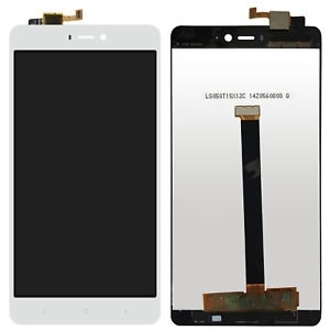 Дисплей за Xiaomi Mi 4s, LCD, с тъч бял image