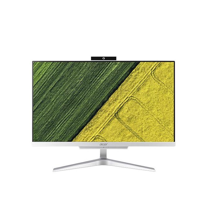 "All in One компютър Acer Aspire C22-860 AiO (DQ.B93EX.001), двуядрен Kaby Lake Intel Core i3-7100U 2.40 GHz, 21.5"" (54.61 cm) Full HD LED-Backlit Display, 8GB DDR4, 1TB HDD, 2x USB 3.0, клавиатура и мишка, Free DOS image"