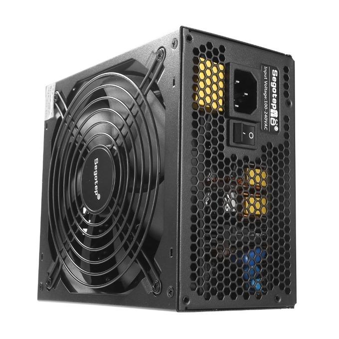 Захранване Segotep GP1350G, 1250W, Active PFC, 80+ Gold, изцяло модулно, 140мм вентилатор image