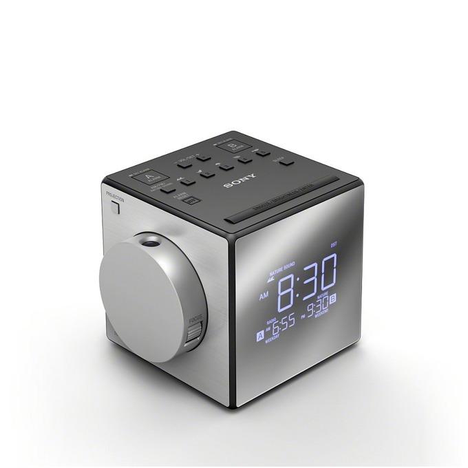 Sony ICF-C1PJ portable radio, white