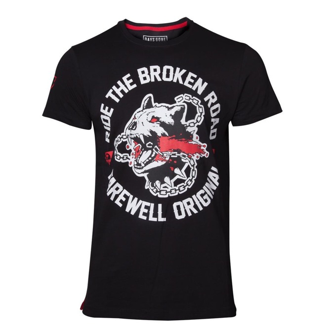 Тениска Bioworld Days Gone Broken Road, размер XXL, черна image
