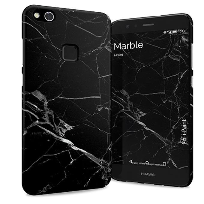 Калъф за Huawei P10 Lite, поликарбонатов, iPaint Marble HC 560604, щампа image