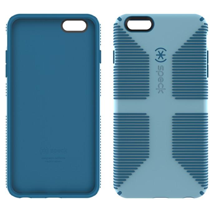 Страничен протектор с гръб Speck CandyShell Grip за iPhone 6S Plus, син image