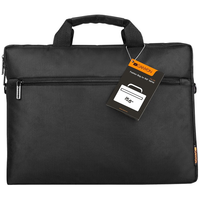 "Чанта за лаптоп Canyon Casual laptop bag (CNE-CB5B2), до 15.6"" (39.62 cm), черна image"