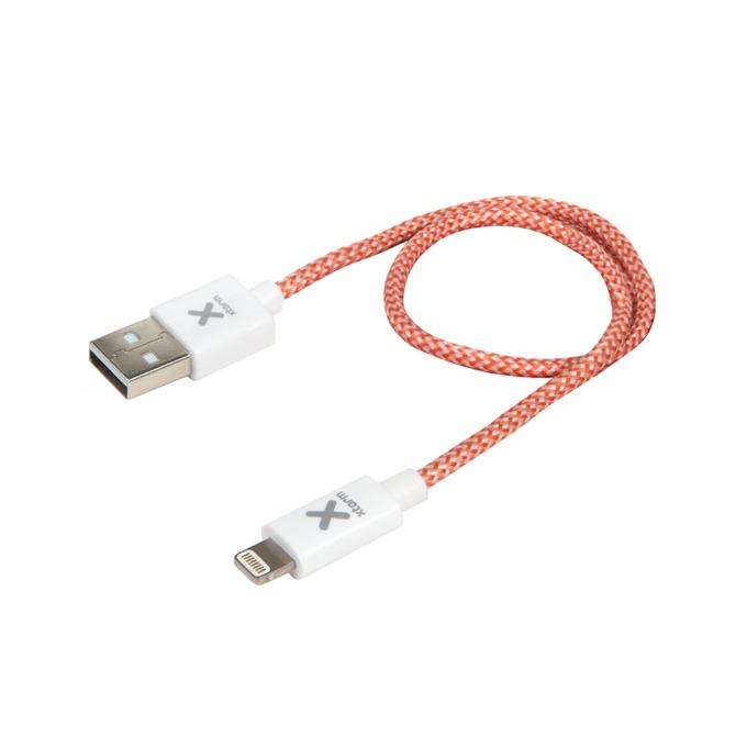 Кабел A-solar CX015 USB(м) към Lightning(м) за iPhone/iPad/iPod, 20см image