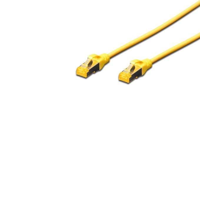 Пач кабел Assmann, SFTP, Cat.6A, 5m, жълт image
