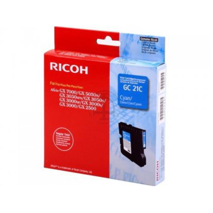 ГЛАВА ЗА RICOH GX 3000/3050N/5050N - Cyan - Type GC21C - P№ 405533 image