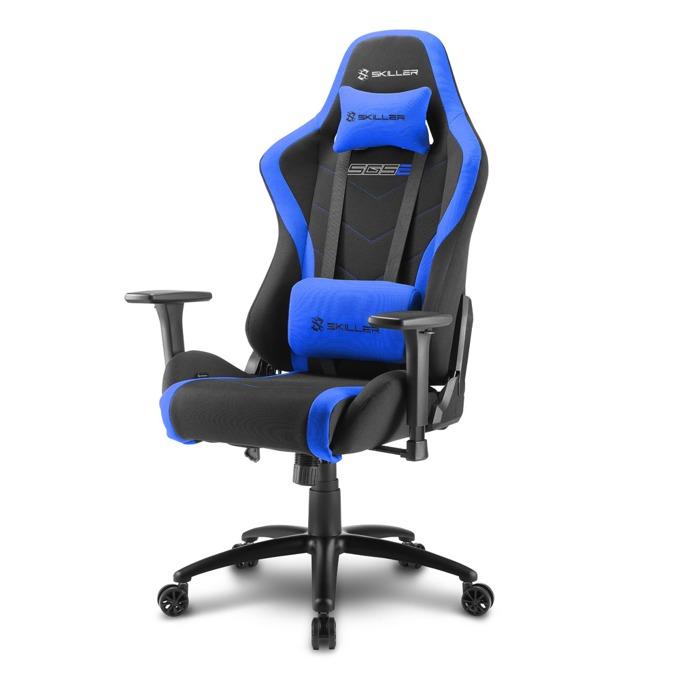 Геймърски стол Sharkoon Skiller SGS2, черен/син image