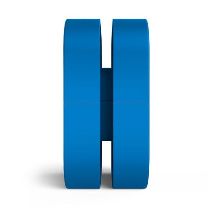 Поставка за слушалки NZXT Puck, магнит, издържа до 2 кг., синя image