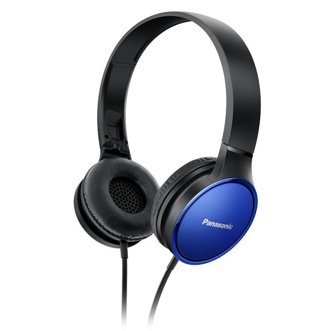 Слушалки Panasonic RP-HF300, позлатен жак, 10Hz-23kHz, сини image