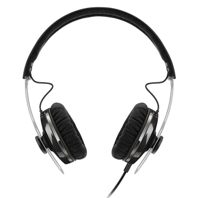 Слушалки Sennheiser Momentum On-Ear G (M2 OEG), микрофон, 16Hz-22kНz честотен диапазон, 1.4 м кабел, черни image
