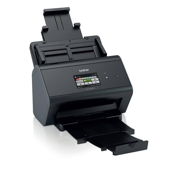 Скенер Brother ADS-2800W, 600 x 600 dpi, A4, двустранно сканиране, ADF, LAN 1000, USB  image