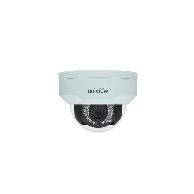 IP камера UNIVIEW IPC322E-IR-F36-IN, куполна, 2 Mpix(1920×1080@30FPS), 3.6mm обектив, H.264,MJPEG, IR осветеност (до 30 метра), IP66, IK10 вандалоустойчива, PoE, 1x 10M/100M Base-TX Ethernet port image