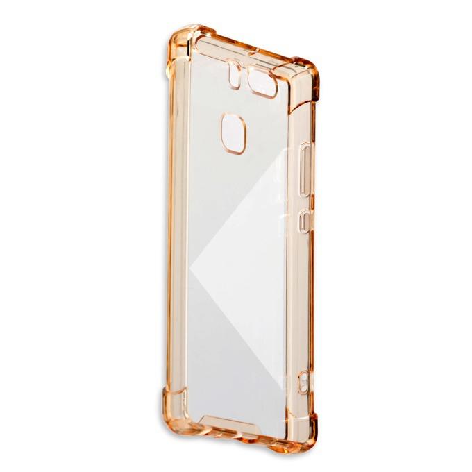 Калъф за Huawei P9, страничен протектор с гръб, поликарбонат, 4Smarts Basic Ibiza Clip, златист image