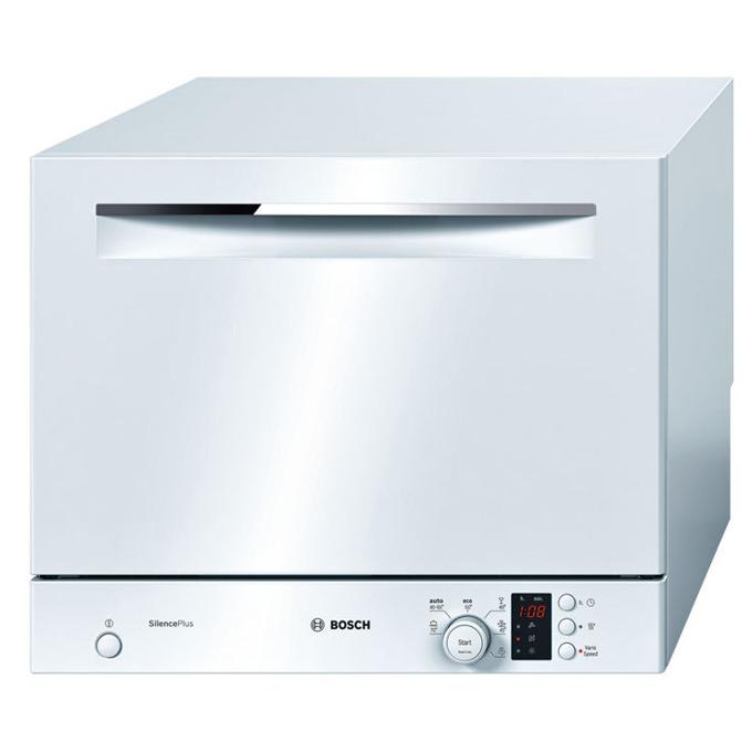 Съдомиялна Bosch SKS 62 E 22 EU, клас A+, 6 комплекта, 6 програми, 5 температури, AquaStop, бяла  image