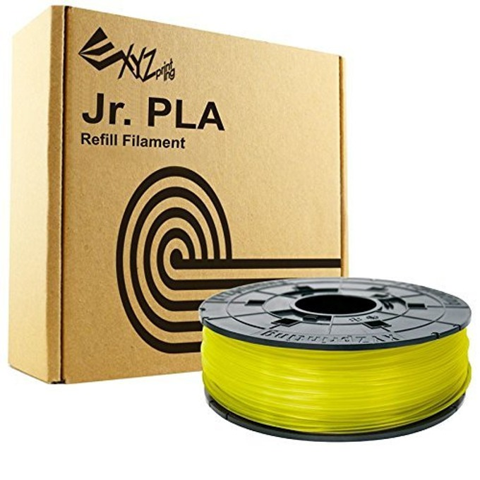 Консуматив за 3D принтер XYZprinting PLA fillament, 1.75mm, чисто жълто, 600 g image