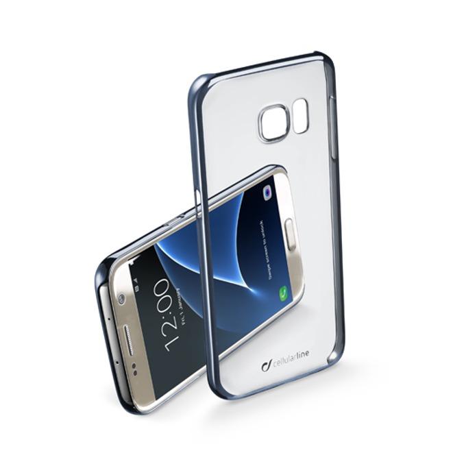 Страничен протектор с гръб Cellular Line за Samsung Galaxy S7, прозрачен image