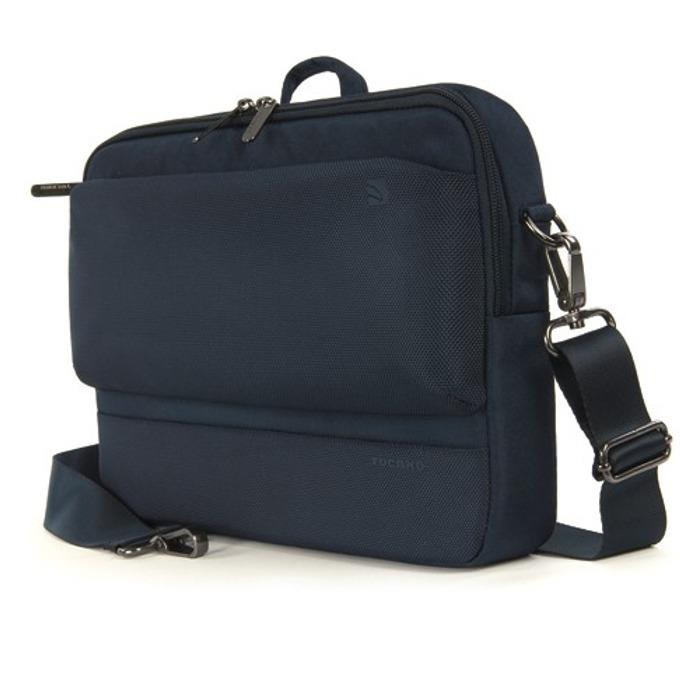 "Чанта за лаптоп Tucano Dritta Slim, до 11""(27.94 cm), за през рамо, синя image"