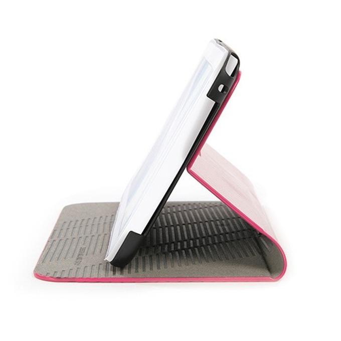 Калъф за таблет Tucano Macro Hard Case, съвместим с Samsung Galaxy Note 8.0 N5100, кожен с поставка, розов image