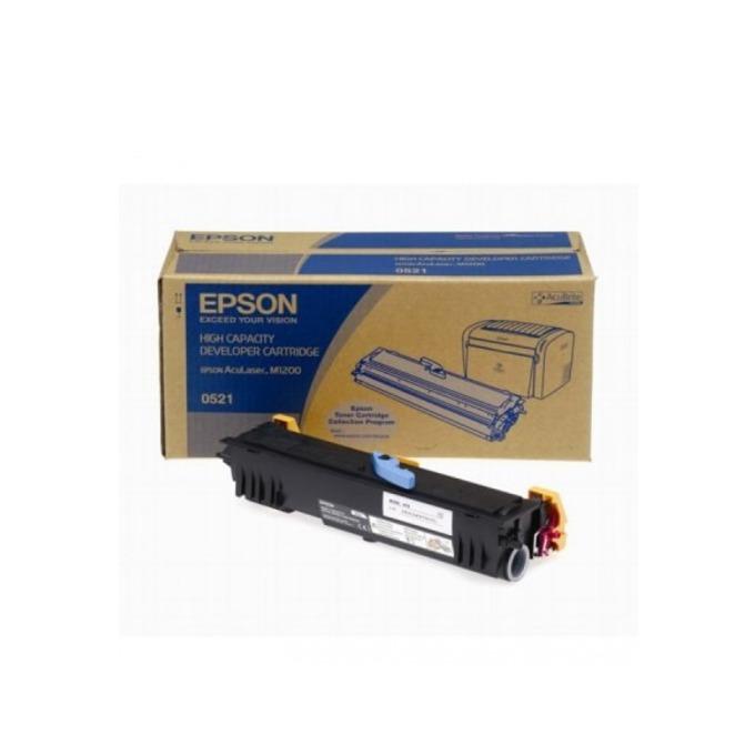 КАСЕТА ЗА EPSON AcuLazer M1200 - Black high capacity - P№ C13S050521 - заб.: 3200k image