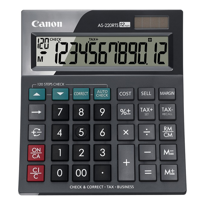 Canon AS-220RTS desktop Calculator