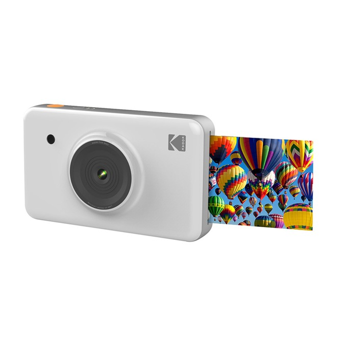 """Фотоапарат KODAK Mini Shot Instant(бял), 10 Mpix, 1.7"""" (4.31cm) дисплей, Bluetooth, microUSB image"""