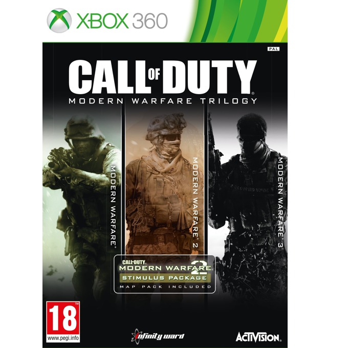 Call Of Duty: Modern Warfare Trilogy, за Xbox 360 image