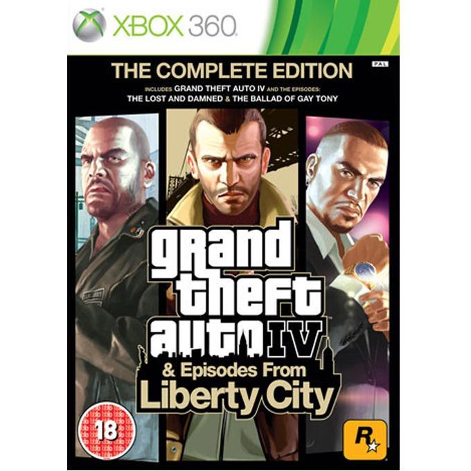 Игра за конзола Grand Theft Auto IV Complete Edition, за XBOX360 image