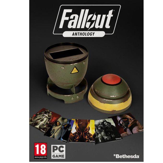 Игра Fallout Anthology, Fat Man mini nuke case, пълната антология от Fallout до New Vegas с включени DLC пакети за PC image