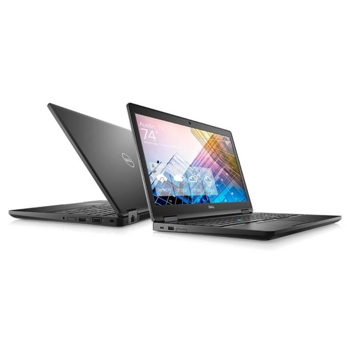 "Лаптоп Dell Latitude 5590 (N063L559015EMEA_UBU), четириядрен Kaby Lake R Intel Core i7-8650U 1.9/4.2 GHz, 15.6"" (39.62 cm) Full HD Anti-Glare Display, (HDMI), 8GB DDR4, 256GB SSD, 1x Type C, Linux, 1.88 kg image"