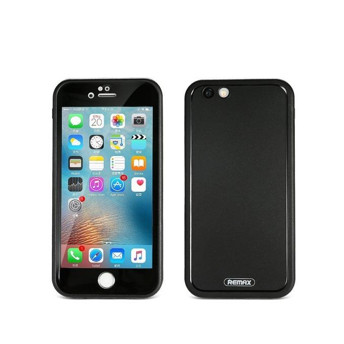 Калъф Apple iPhone 7/7S, заден капак, термополиуретанов, Remax, Journey, водоустойчив, Прахоустойчив IP6, черен image