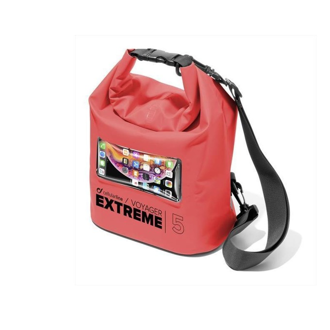 Cellularline Voyager Extreme 5. Red product