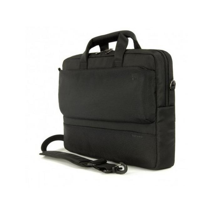 "Чанта за 15.6"" лаптоп и 17"" MacBook Pro TUCANO BDR15, серия Dritta Slim, черна image"