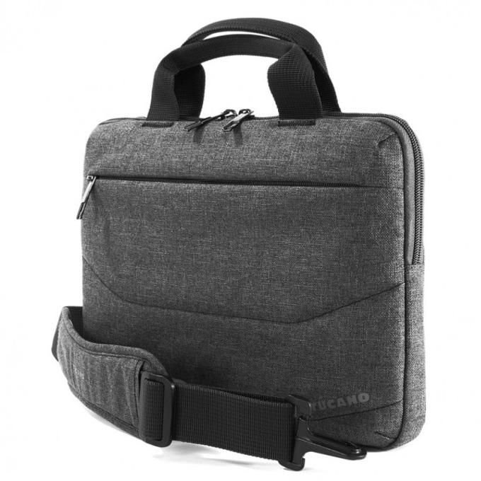 "Чанта за лаптоп Tucano Linea Slim Bag до 11""(27.94 cm), за през рамо, черна image"