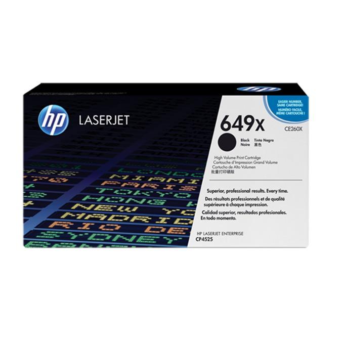 КАСЕТА ЗА HP LASER JET CP4525 - Black - P№ CE260X - заб.: 17000k image