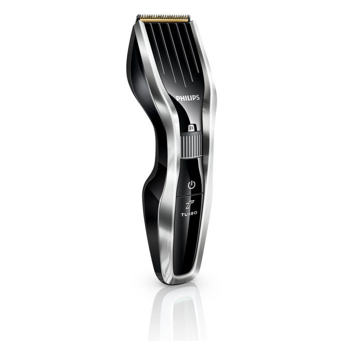 Машинка за подстригване Philips HC5450/15, Series 5000, титаниеви ножчета, 24 настройки на дължината, черна image