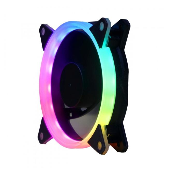 Вентилатор 120мм Segotep Pro Vibrant S, 3-pin, 1100rpm, RGB подсветка image