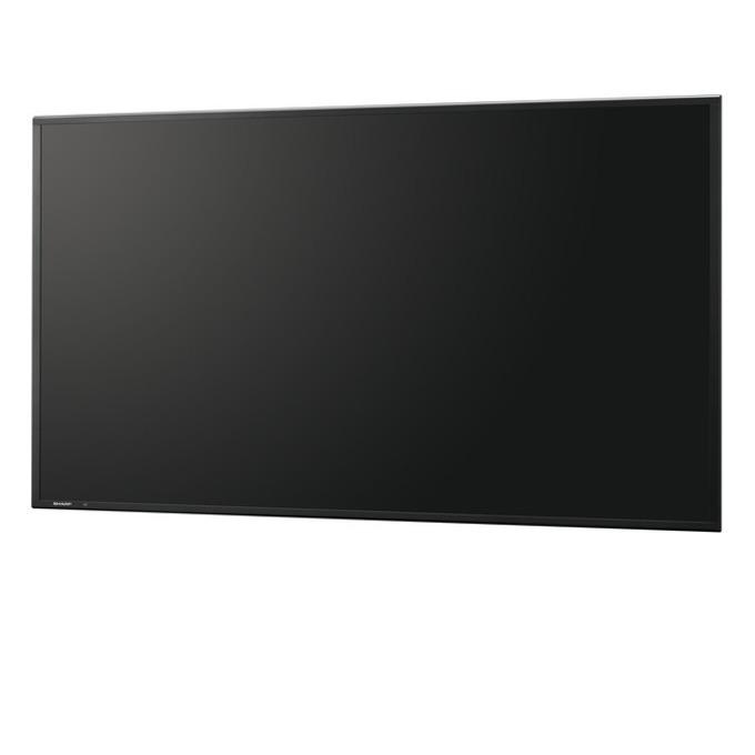 "Публичен дисплей SHARP PNR603, 60""(152.4 cm), Full HD, VGA, HDMI, DVI-D, DisplayPort, RS232, RCA, LAN, черен image"