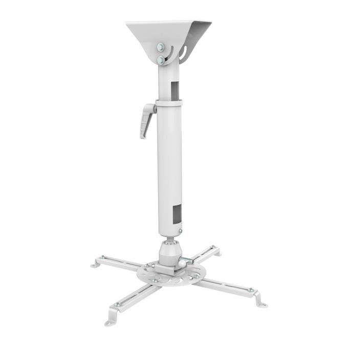 Стойка за проектор Sunne PRO300XL, за таван, въртене на 360° и наклон до 20°, регулиране на дължината от 820мм до 1200мм, до 25кг image