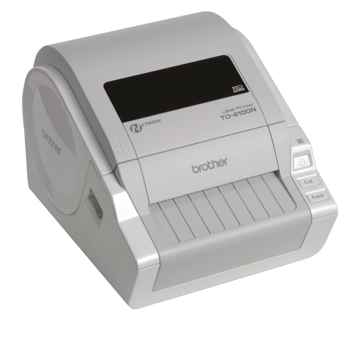 Етикетен принтер Brother TD-4100N, RS-232C , 2 г. image