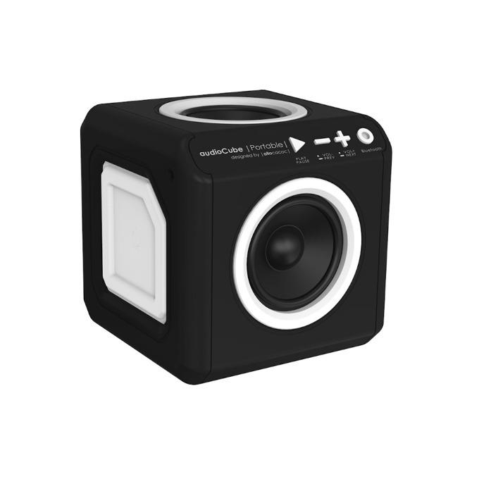 Тонколона Allocacoc Audio Cube Zero 10486BK, 1.0, 14W RMS, USB, Bluetooth, черна image