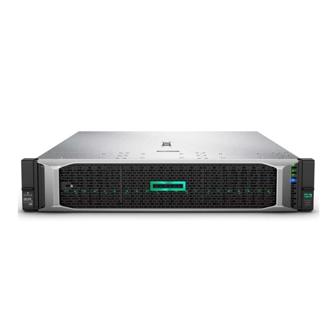 Сървър HPE DL380 G10 (826565-B21), десетядрен Skylake Intel Xeon Silver 4114 2.2/3.0 GHz, 32GB DDR4, No HDD, 4x 1 GbE, без OS, 500W image